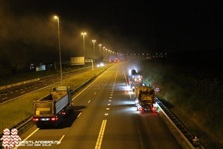 Meerdere bonnen tijdens wegwerkzaamheden op A4