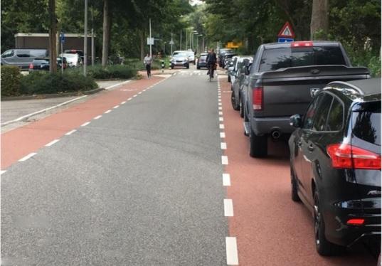 Tijdelijke parkeerplaats bij sportpark De Zweth