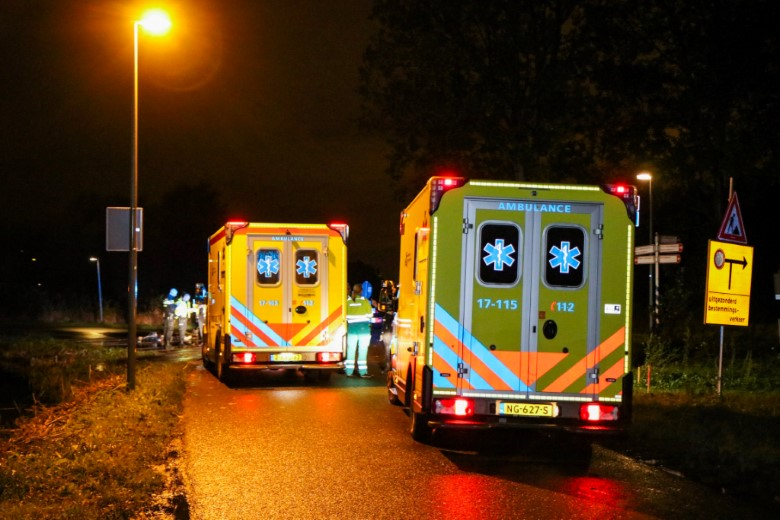 Man overleden na ongeval Broekpolderweg