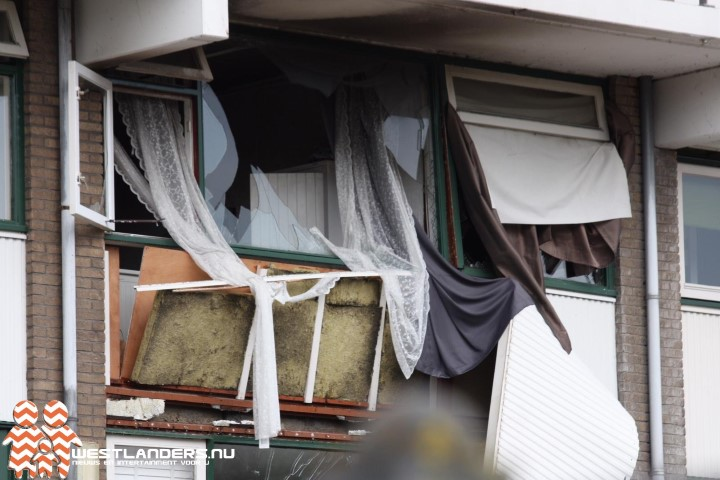 Explosie Vlaardingen: man doodde vrouw en zichzelf