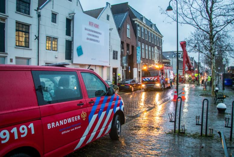 Brand in museum Vlaardingen