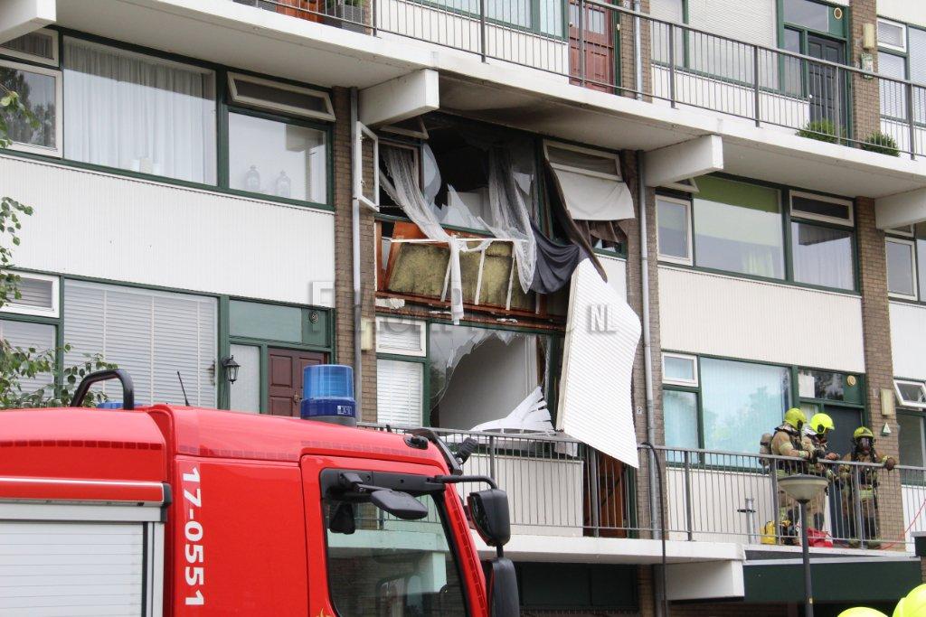 Twee doden na explosie in woning Vlaardingen