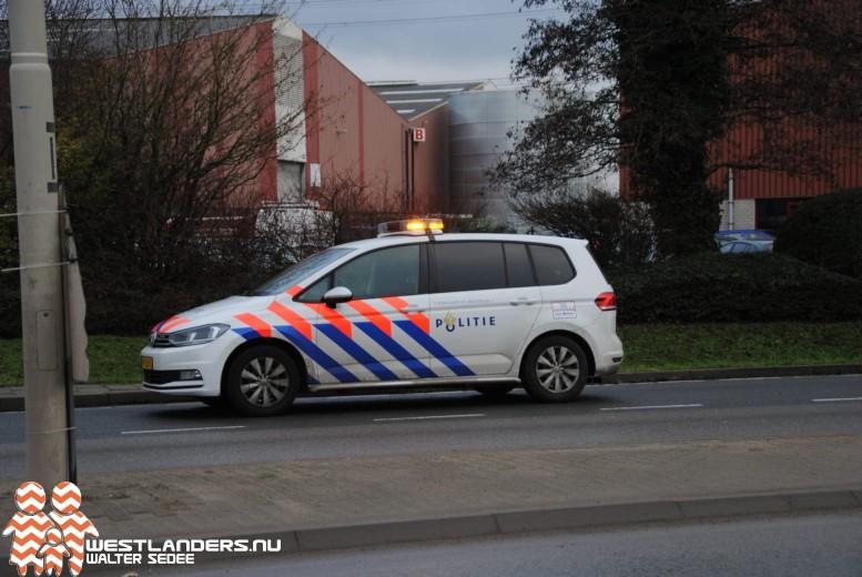 Gewapende bestuurder door politie aangehouden