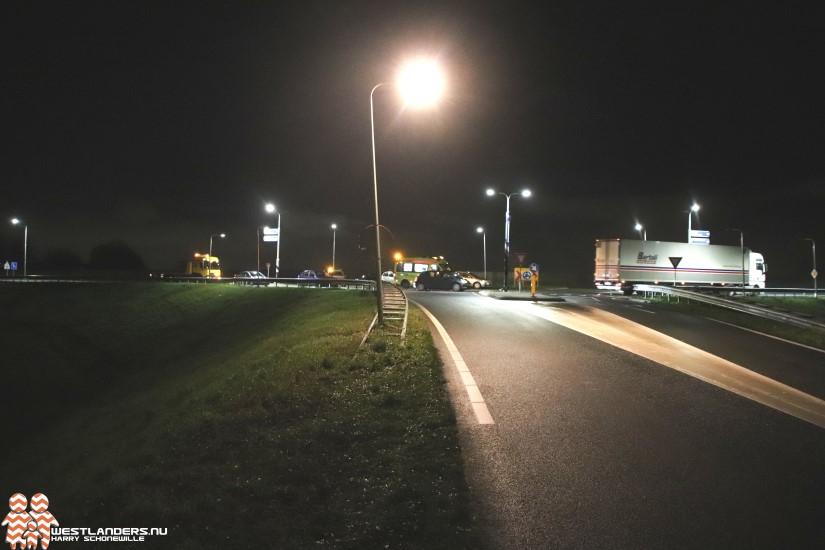 Ongeluk op de Westlandroute