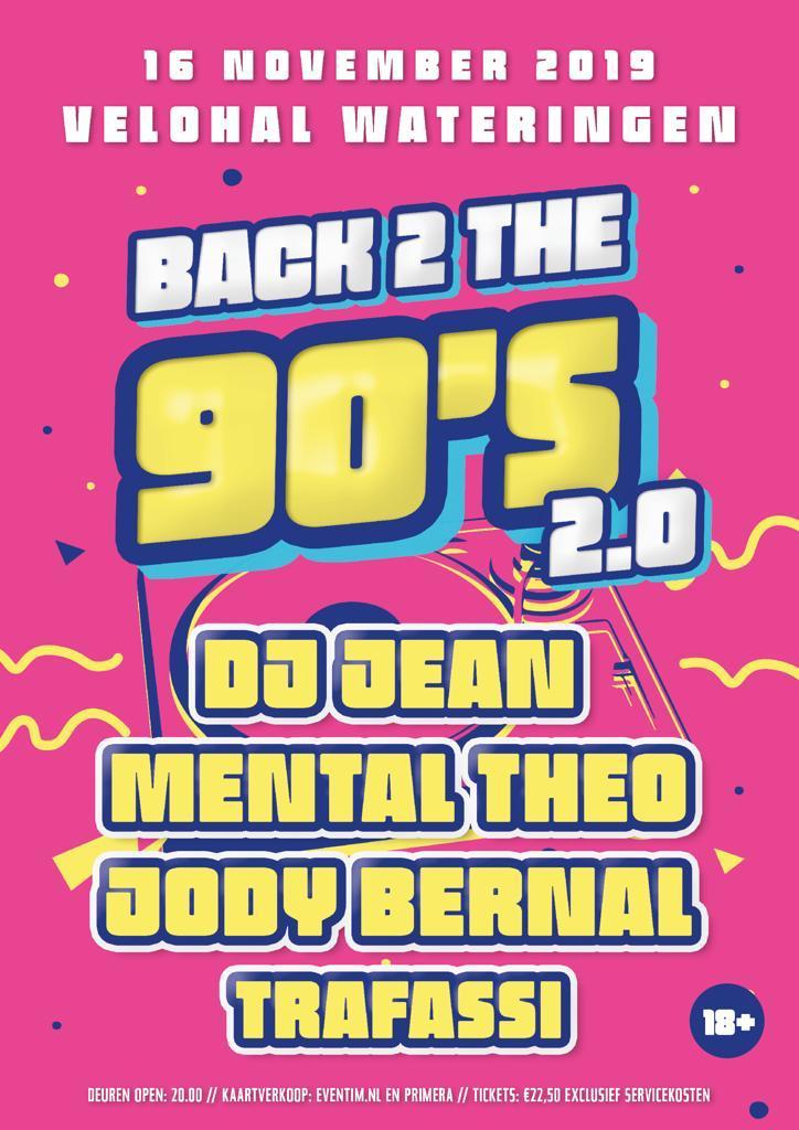 Back 2 the 90s keert terug naar Wateringen