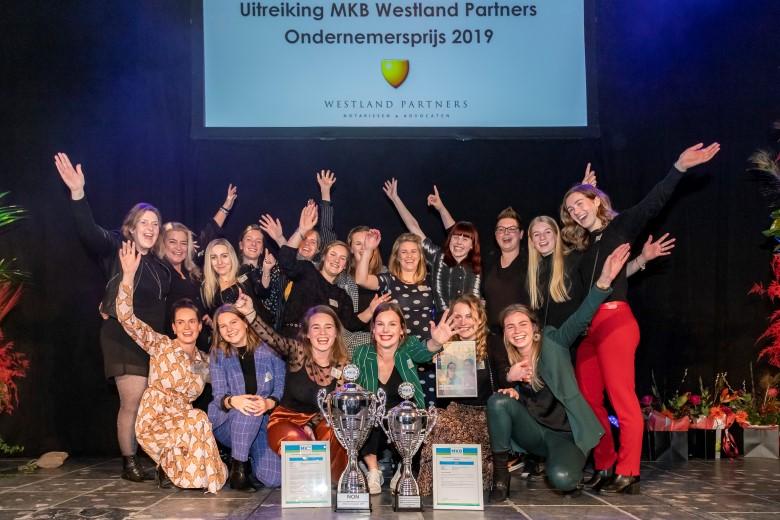 NON winnaar MKB Westland Ondernemersprijs 2019