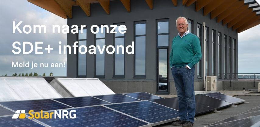 Piet Zwinkels, SolarNRG, promoot zonnepanelen