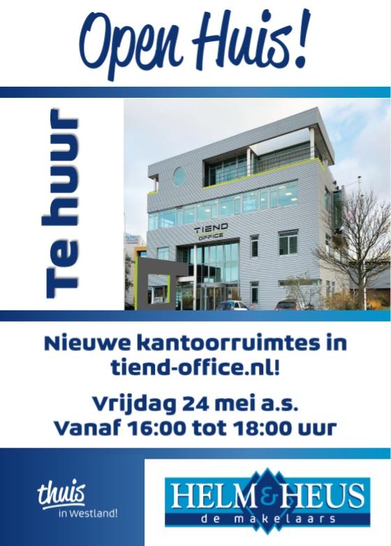 Open Huis Tiend Office op 24 mei
