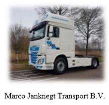 Marco Janknegt Transport B.V. zoekt chauffeurs