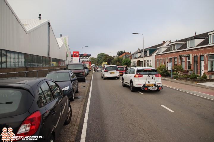 Collegevragen inzake verkeer Woutersweg