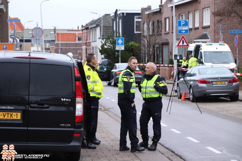 Sand Ambachtstraat afgezet voor reconstructie ongeluk