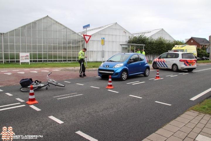 Fietsster geschept bij ongeluk Noordlandseweg