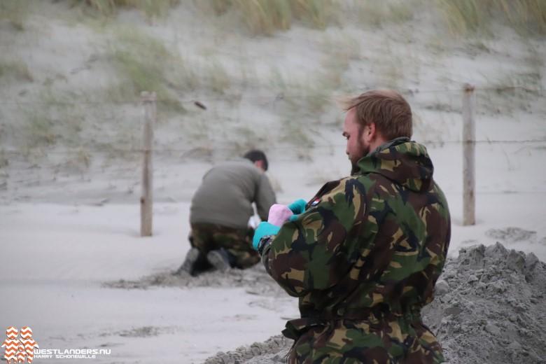 Granaten uit 1e wereldoorlog geruimd op het strand