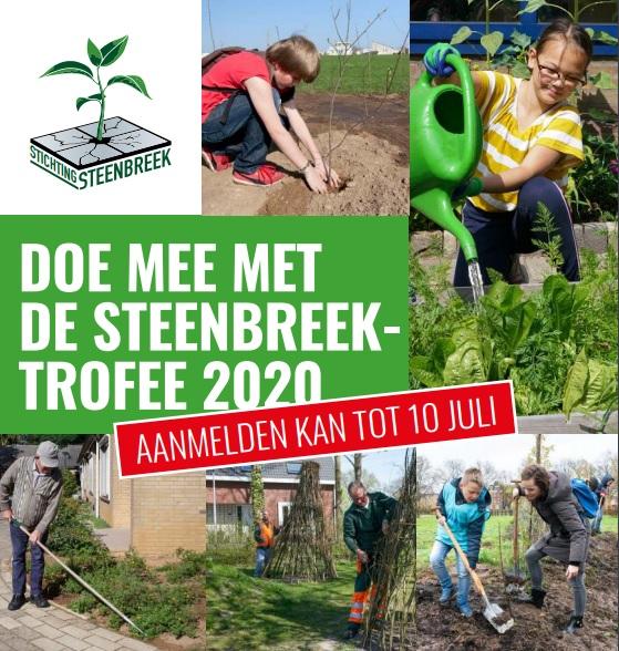 Doe mee met de Steenbreektrofee 2020
