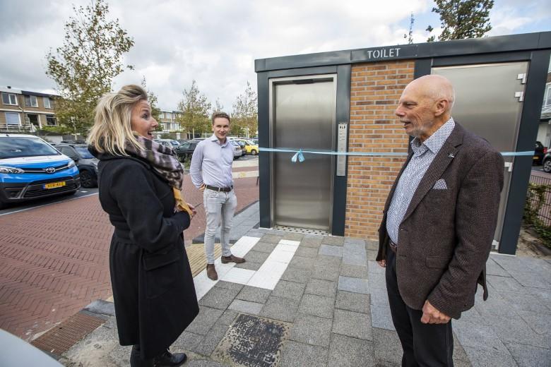 Graaf Florisplein heeft openbaar toilet