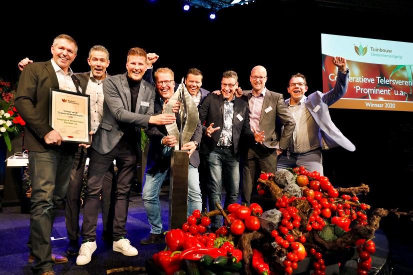 Prominent wint Tuinbouw Ondernemersprijs 2020