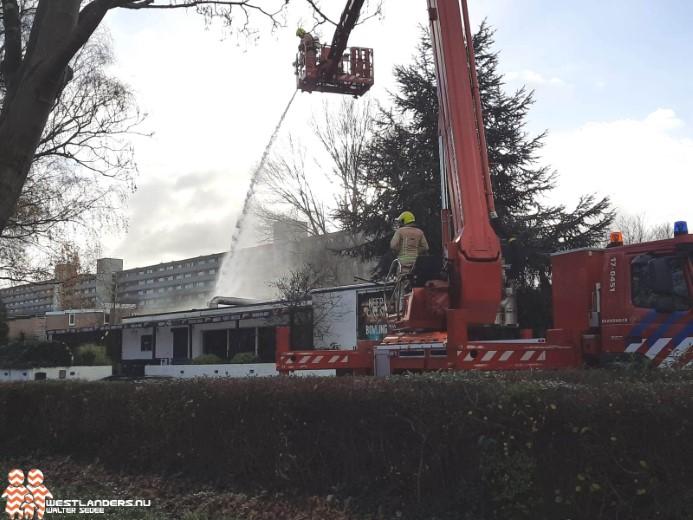 Zeer grote brand in Dok 99