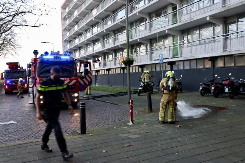 Keukenbrand aan het Sparrendal