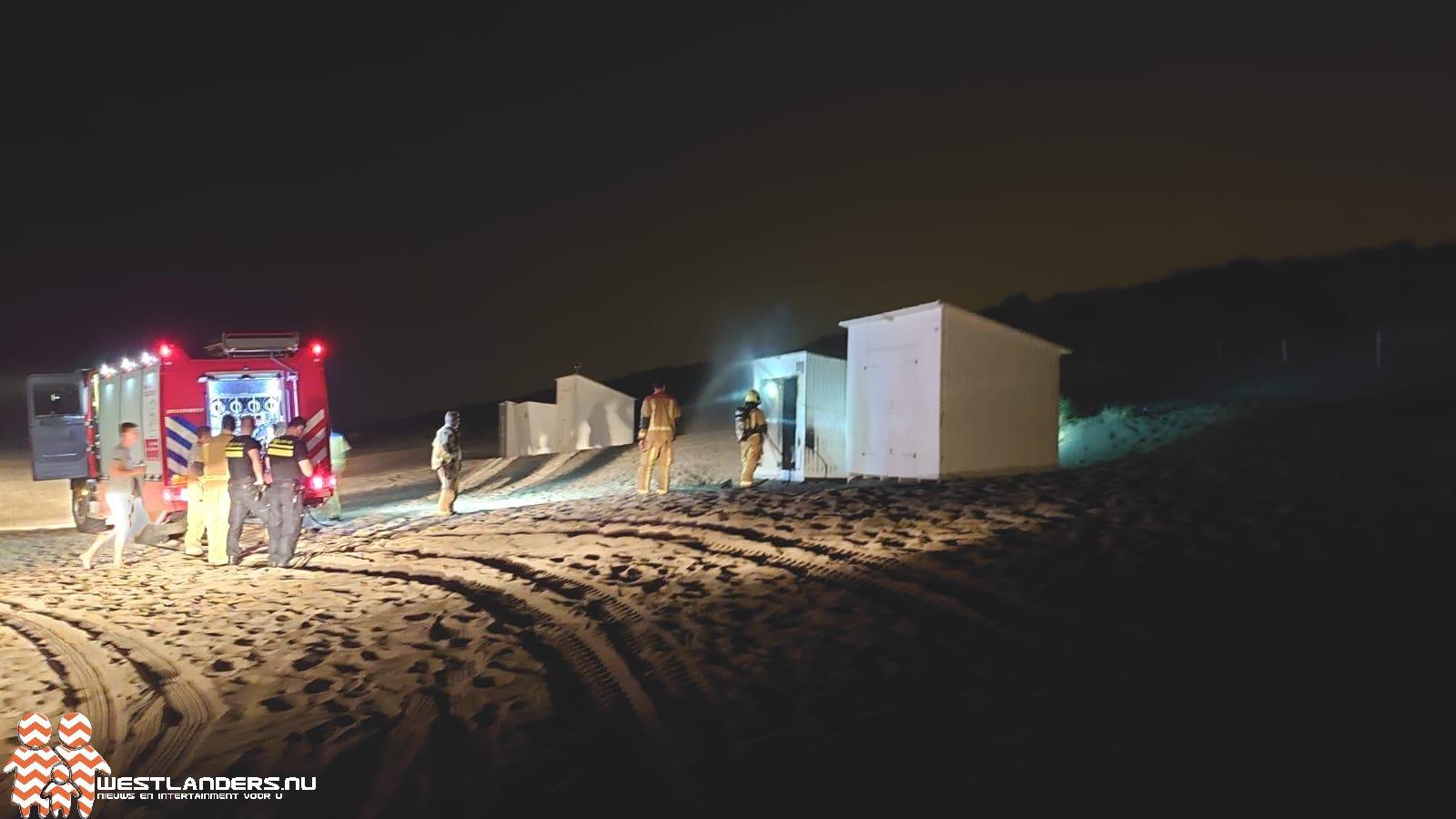 Buitenbrandjes bij het strand