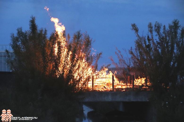 Twee nachtelijke incidenten voor de brandweer