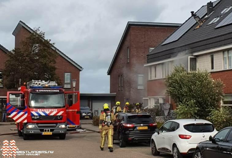 Binnenbrand in woning Wagenmakerstraat
