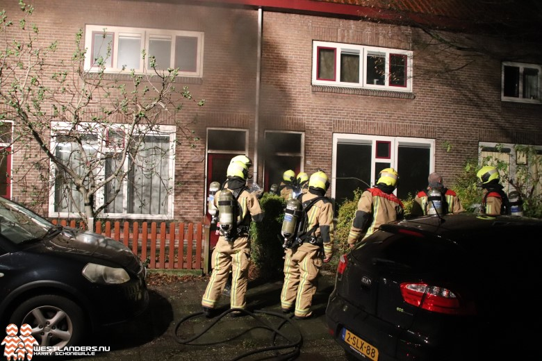 Gewonden bij binnenbrand Van Doornstraat