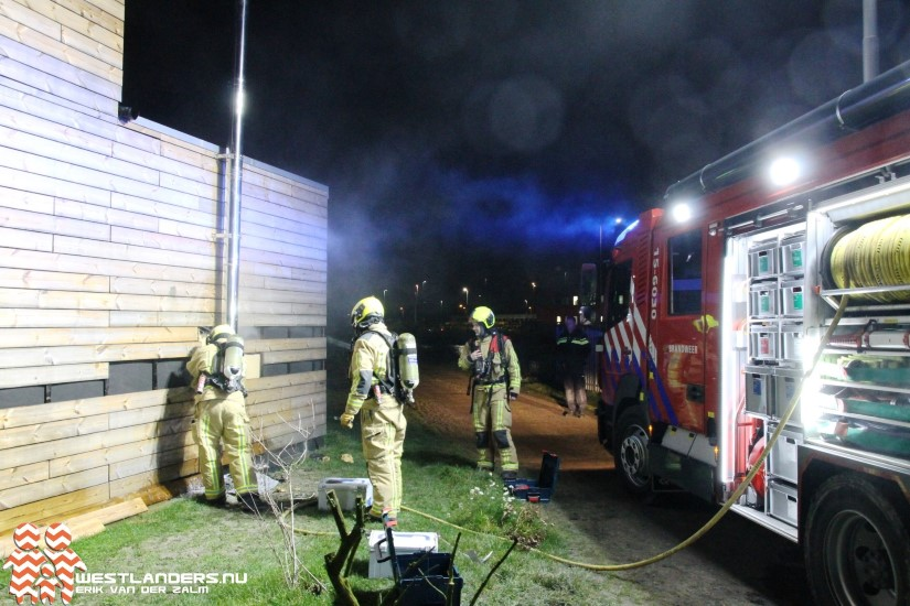 Kleine brand in tiny house