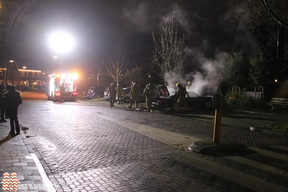 Jaguar in brand gestoken