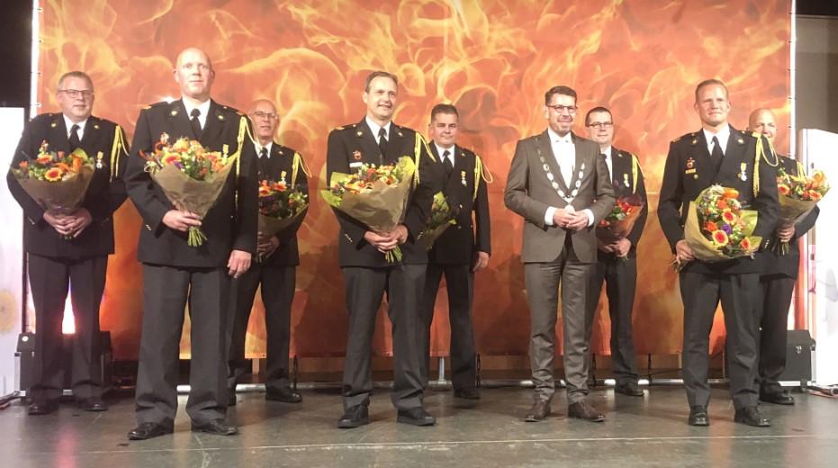 Koninklijke onderscheidingen voor Lierse brandweervrijwilligers