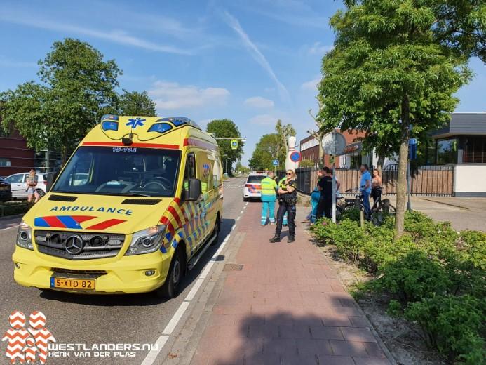 Fietser gewond bij ongeluk Veilingweg