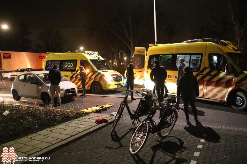 Tieners gewond na ongeluk op zebrapad