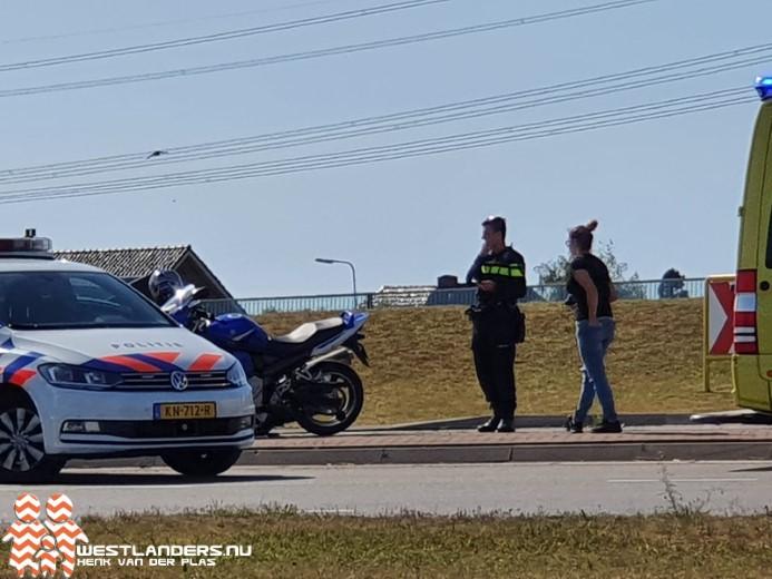 Motorrijder gewond bij ongeluk Westerlee