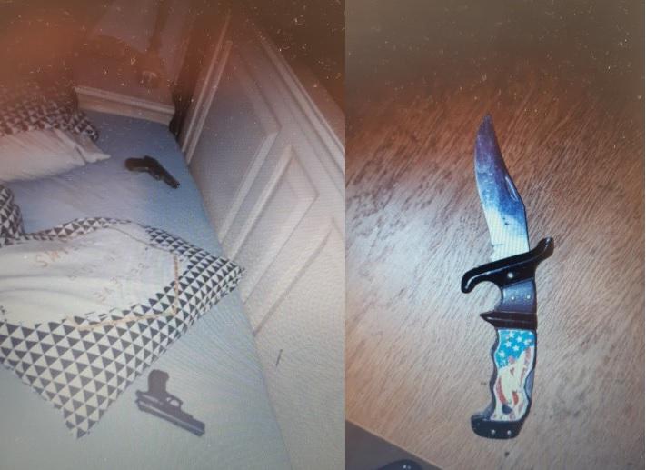 Politie vindt wapens in woning