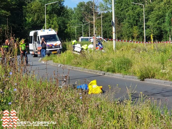 Fietser zwaargewond bij ongeluk Machiel Vrijenhoeklaan