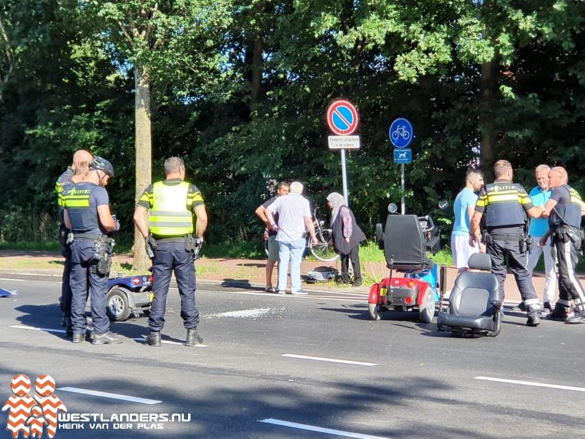 Vrouw ernstig gewond na ongeluk bij Erasmusweg