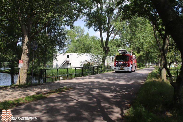 Brandweer eruit voor drenkeling bij Madestein