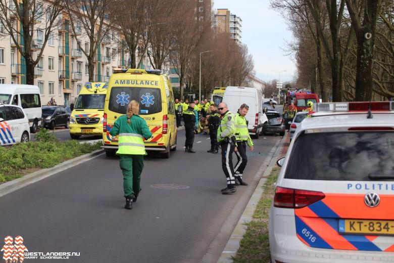 Gewonde bij ongeluk Erasmusweg