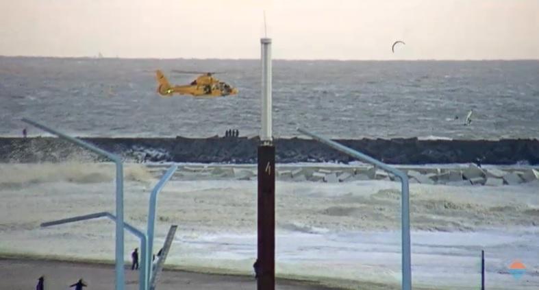 Twee doden bij drama Noordelijk havenhoofd
