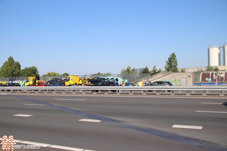 Ongeluk op de A4