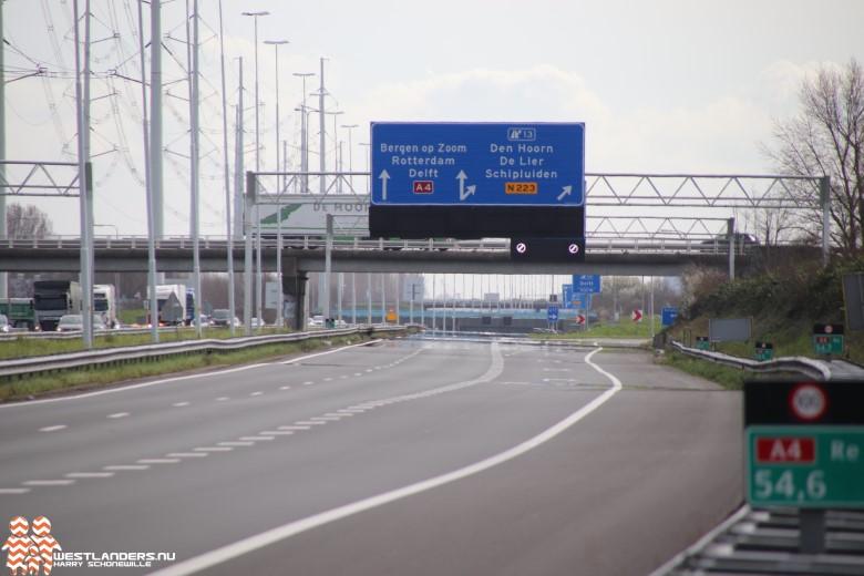 Bermen langs de A4