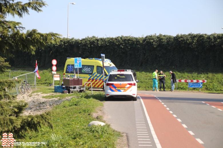 Scooterrijder gewond bij ongeluk Veenakkerweg