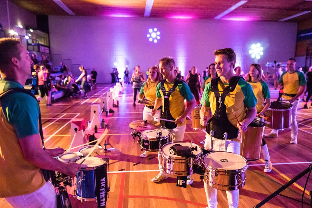 Sambagroep West Percussion bestaat 5 jaar!