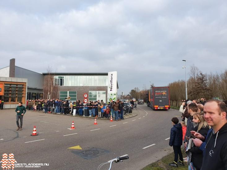 Formule 1 koorts in gemeente Westland