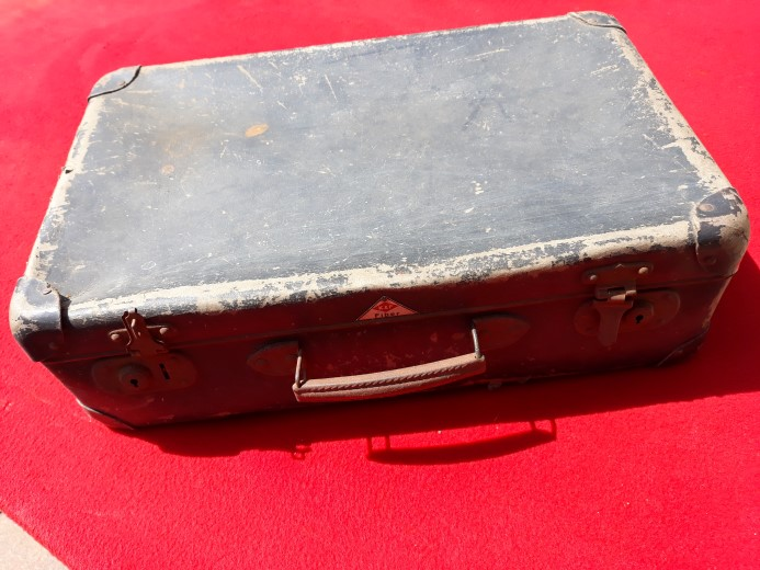 Koffertje naar Atlantikwall-Museum