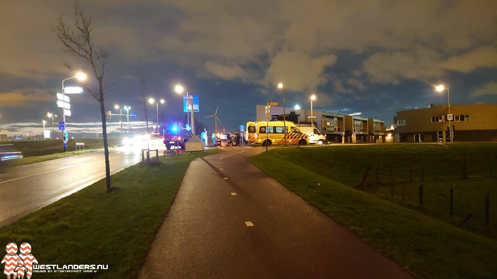 Gewonde bij ongeluk Haakweg