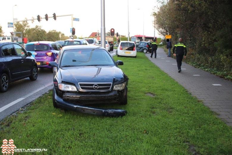 Ongeluk bij de Nieuweweg