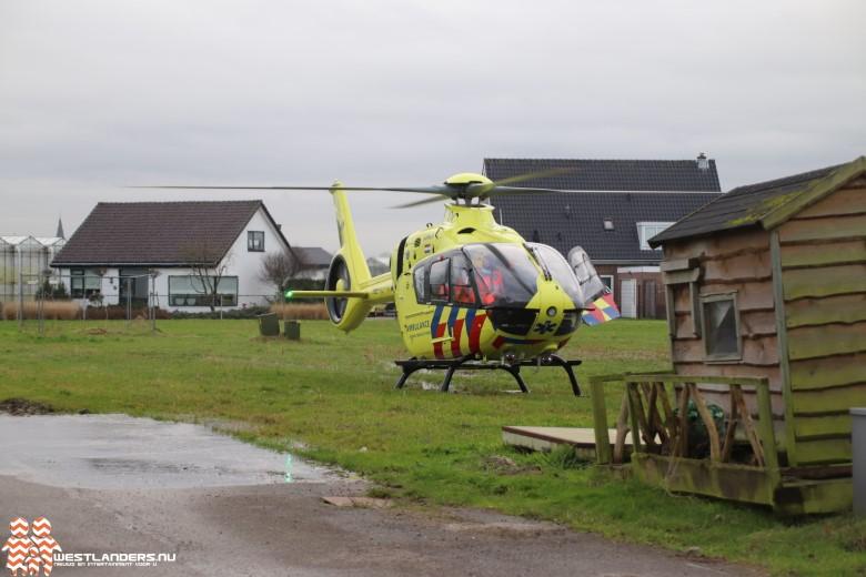 Man gewond na bedrijfsongeval aan de Dortlaan