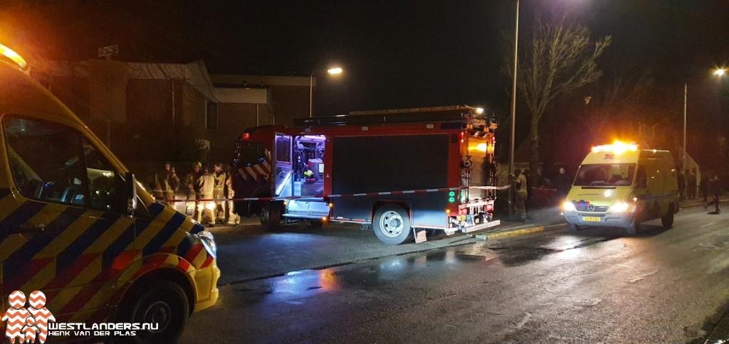 Vrouw en huisdieren gewond bij brand in woning