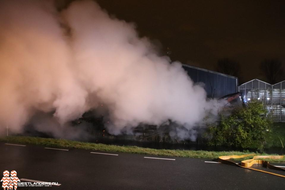 Getuigen gezocht van brandstichting bouwkeet