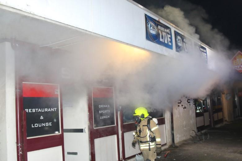 Tiener aangehouden wegens brandstichting